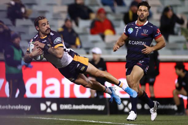AUS: Super Rugby AU Rd 1 - Brumbies v Rebels