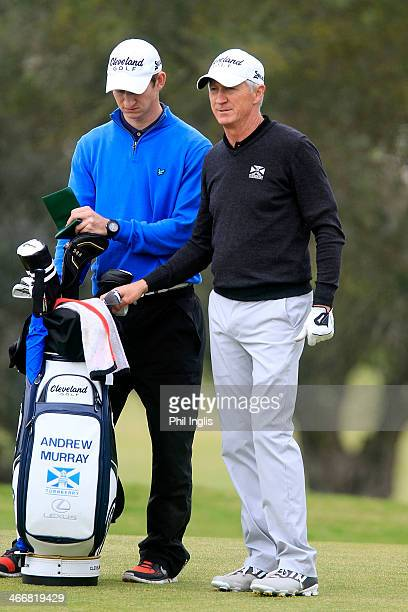 Andrew Murray of England in action during the second round of the European Senior Tour Qualifying School Finals played at Vale da Pinta Pestana Golf...