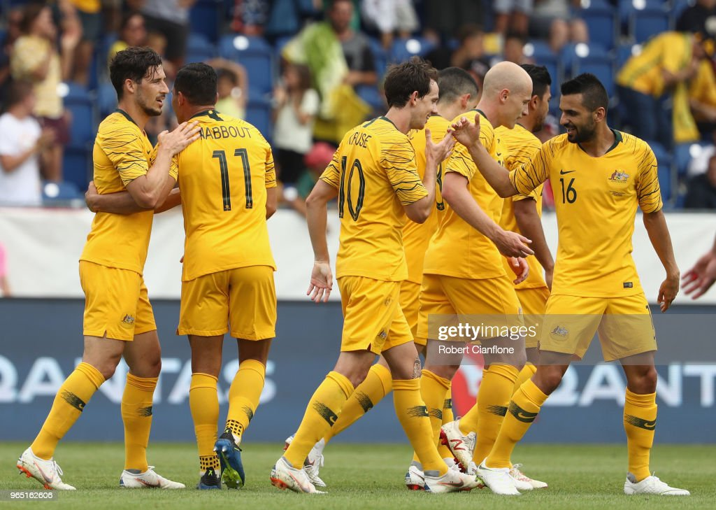 Czech Republic v Australia : News Photo
