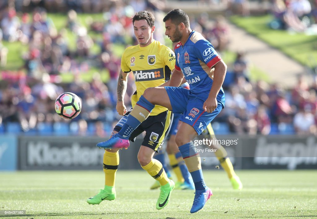 A-League Rd 21 - Newcastle v Central Coast