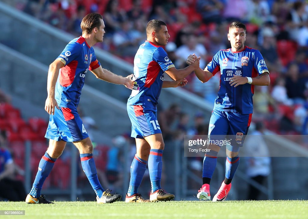 A-League Rd 17 - Newcastle v Wellington