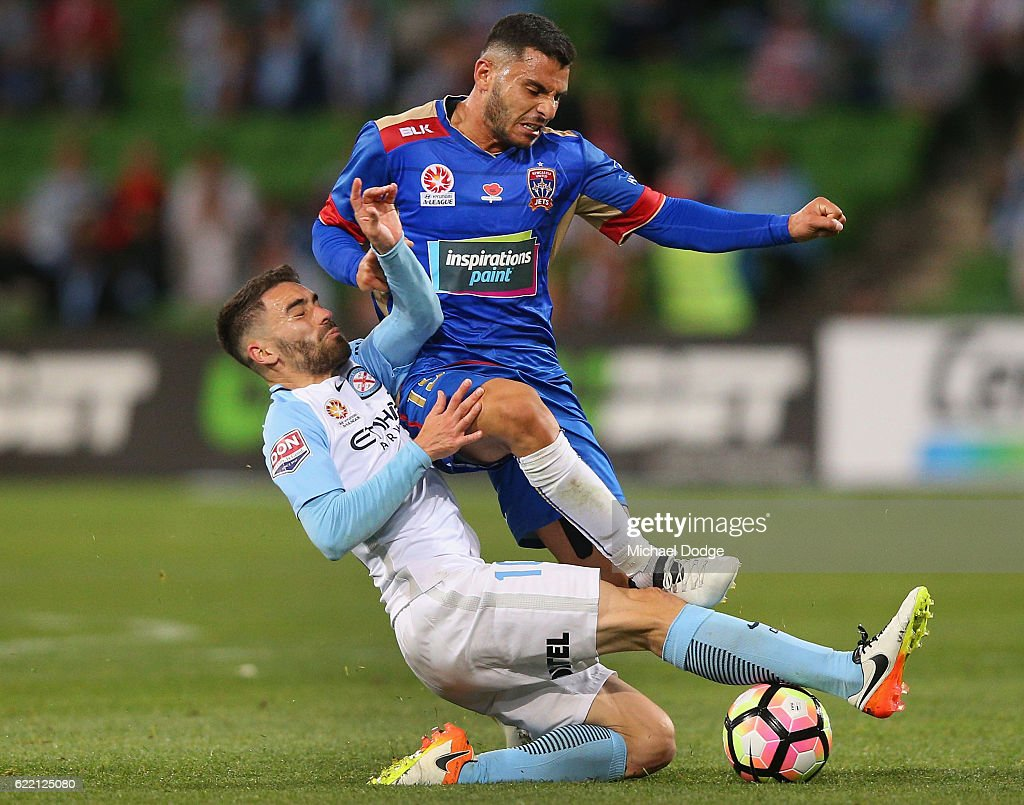 A-League Rd 6 - Melbourne City v Newcastle
