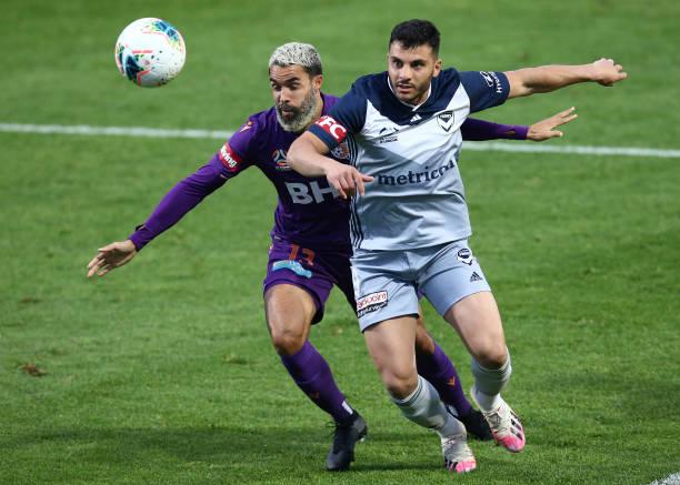 AUS: A-League Rd 25 - Perth v Melbourne