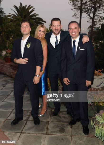 Andrew Naylor guest Barry Sloane and Nick Ede celebrate their wedding in Los Angeles at the private residence of Jonas Tahlin CEO of Absolut Elyx on...