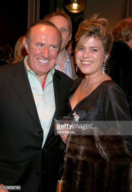 Andrew Neil and Sarah Standing during Remy Martin / Theo Fennell Hot Ice Party Inside at 25 Belgrave Square in London Great Britain