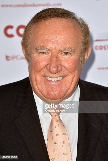 Andrew Neil attends the Costa Book of the Year award at Quaglinos on January 27 2015 in London England
