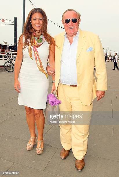 Andrew Neil attends the Johnnie Walker Blue Label Drinks Reception on July 16 2013 in London England