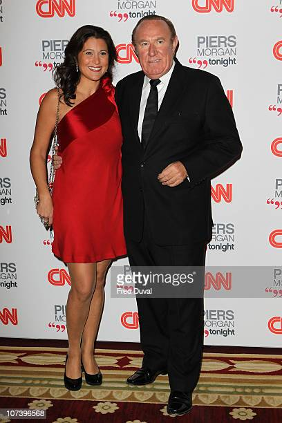 Andrew Neil attends the launch of 'Piers Morgan Tonight' on CNN at Mandarin Oriental Hyde Park on December 7 2010 in London England