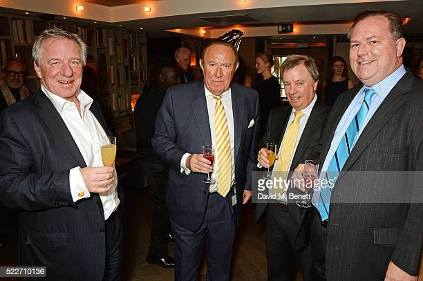 Andrew Neil Rigel Mowatt and guests attend as The Spectator's lifestyle magazine celebrates its fourth birthday at the Belgraves Hotel on April 20...