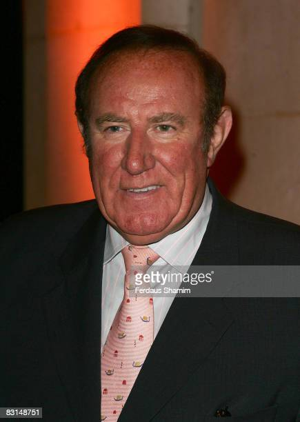 Andrew Nell attends the Evening Standard's party celebrating London's 1000 Most Influential People 2008 at The Wallace Collection on October 6, 2008...