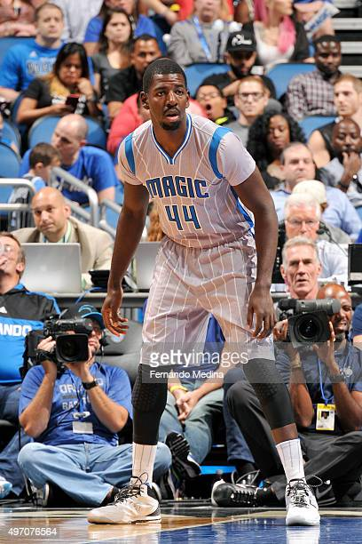 Andrew Nicholson of the Orlando Magic during the game against the Utah Jazz on November 13 2015 at Amway Center in Orlando Florida NOTE TO USER User...