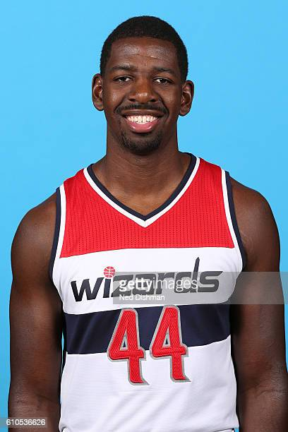 Andrew Nicholson of the Washington Wizards poses for a head shot during the 20162017 Media Day on September 26 2016 at the Verizon Center in...