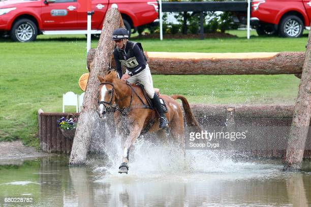 Andrew Nicholson riding NEREO during the cross country phase of the 2017 Badminton Horse Trials on May 7 2017 in Badminton Gloucestershire