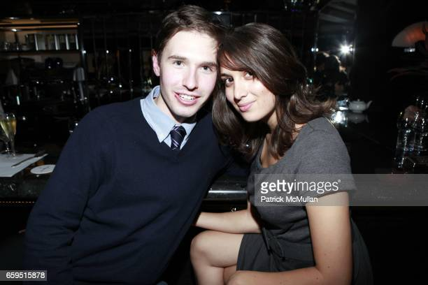 Andrew Nodell and Jordi Lippe attend Le Caprice Preview Dinner at Le Caprice on October 21 2009 in New York City