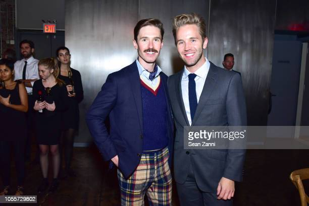 Andrew Nodell and Robbie Gordy attend the 2018 Aperture Gala at Cedar Lake on October 30 2018 in New York City