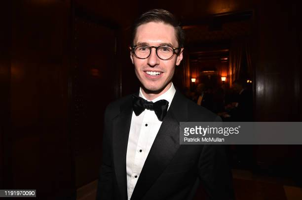 Andrew Nodell attends French Heritage Society's New York Gala The Black White Ball at Private Club on November 21 2019 in New York City
