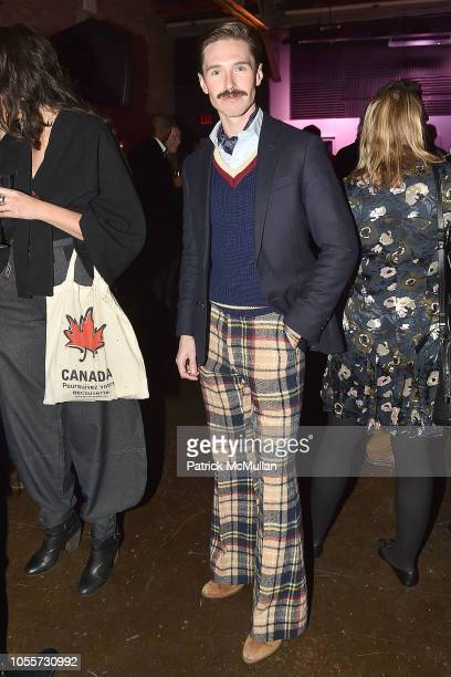 Andrew Nodell attends the 2018 Aperture Gala at Cedar Lake on October 30 2018 in New York City