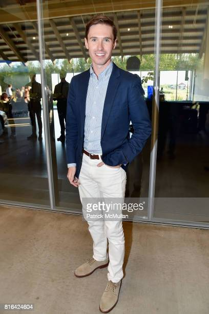Andrew Nodell attends the Midsummer Party 2017 at Parrish Art Museum on July 15 2017 in Water Mill New York