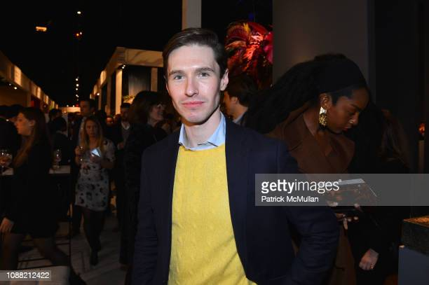 Andrew Nodell attends Wendy Goodman and Zac Posen Host Young Collector's Night at the Winter Show A Benefit For East Side House at Park Avenue Armory...
