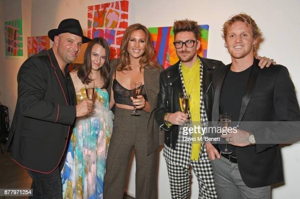 Andrew Nugent Founder of Bird In Hand Lalla Nugent Belinda Sloane Henry Holland and Rory Sloane attend an intimate dinner hosted by Henry Holland and...