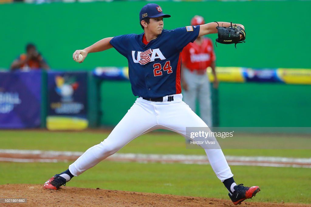 Panama v USA - WBSC U-15 World Cup Super Round Final