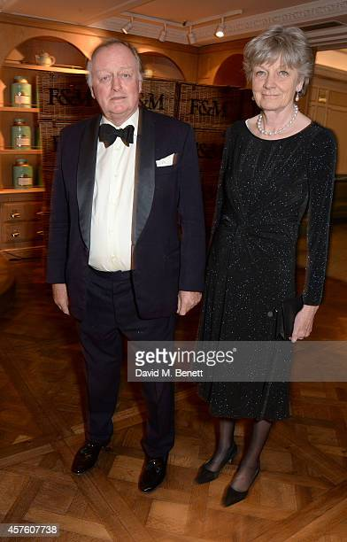 Andrew Parker Bowles and Lady Rosalind Morrison attend Fortnum Mason's Diamond Jubilee Tea Salon for the launch of Tom Parker Bowles' new book 'Let's...