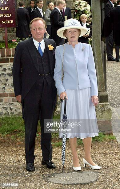 Andrew Parker Bowles and Rosmary Bowles