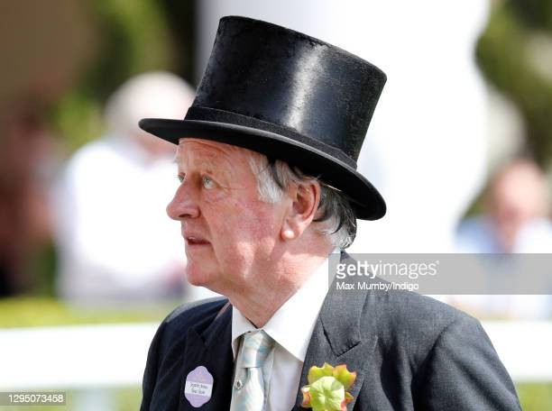 Andrew Parker Bowles attends day 2 of Royal Ascot at Ascot Racecourse on June 21, 2017 in Ascot, England.