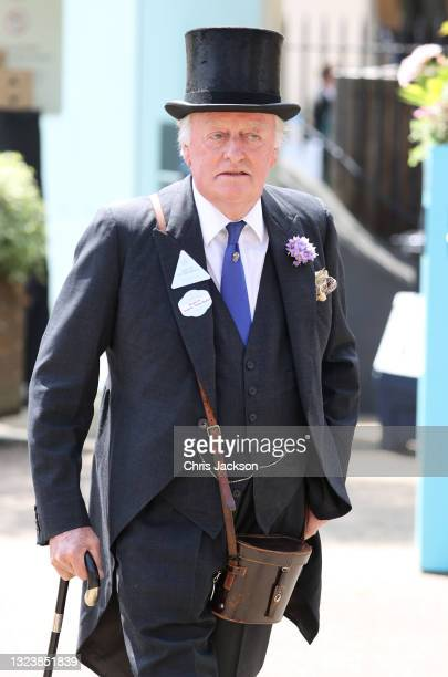 Andrew Parker Bowles attends Royal Ascot 2021 at Ascot Racecourse on June 16, 2021 in Ascot, England.