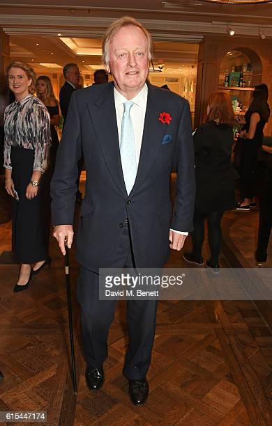 Andrew Parker Bowles attends the launch of 'Fortnum Mason The Cook Book' by Tom Parker Bowles at Fortnum Mason on October 18 2016 in London England