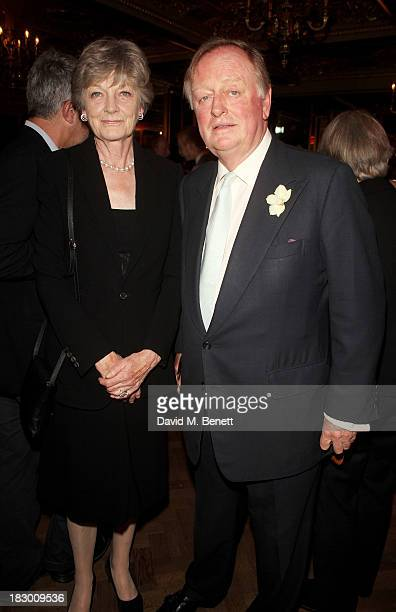 Andrew Parker Bowles attends the launch of Geordie Greig's new book Breakfast With Lucian on October 3 2013 in London England