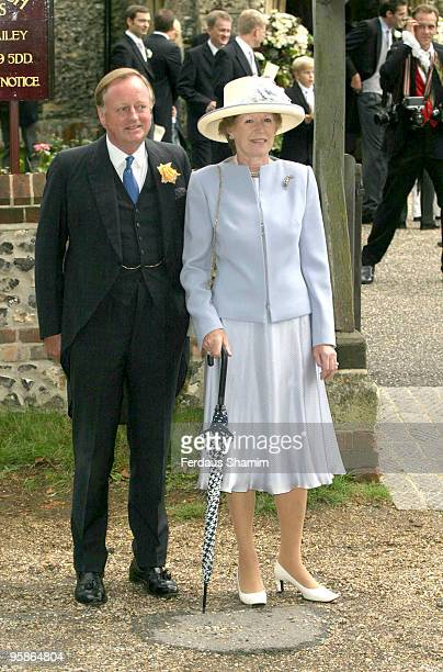 Andrew ParkerBowles and Rosemary ParkerBowles