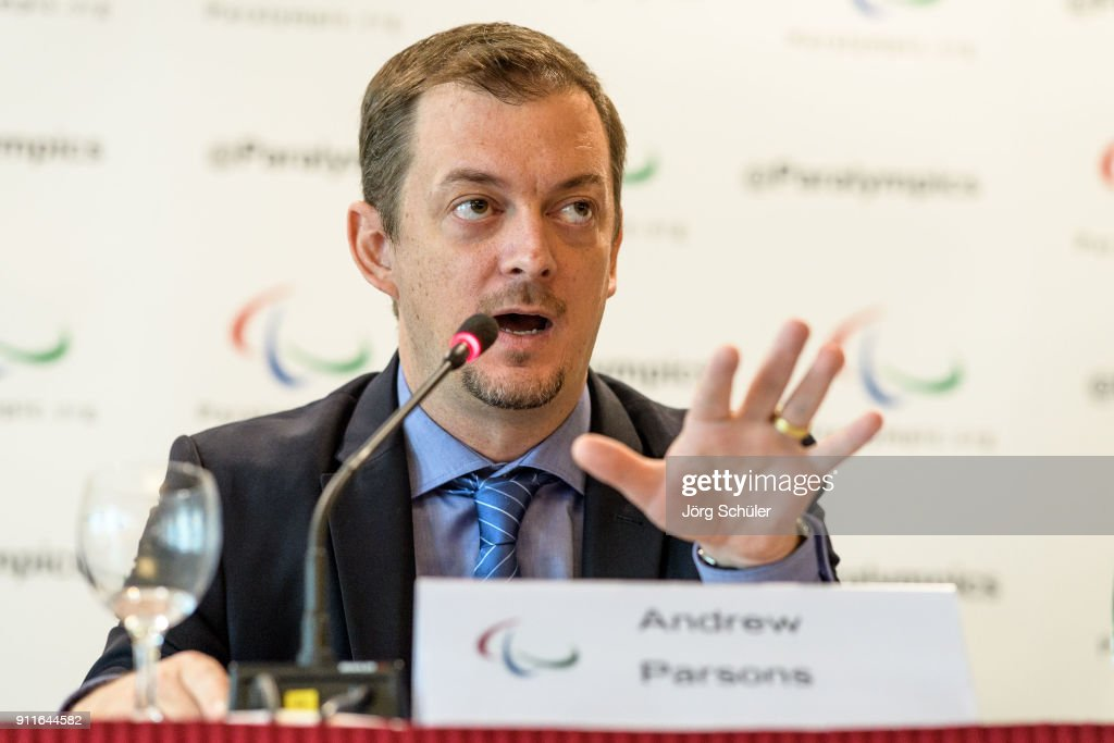 International Paralympic Committee Press Conference : News Photo