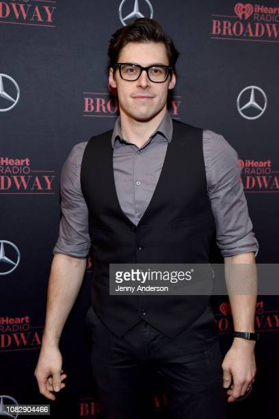 Andrew Pirozzi attends the iHeartRadio Broadway Launch Celebration on January 14 2019 in New York City