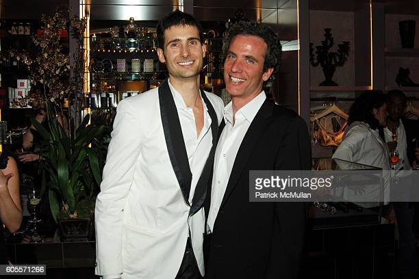 Andrew Pollard and Jon Rubin attend Kiki De Montparnasse Private Dinner at Kiki De Montparnasse on May 22 2006 in New York City