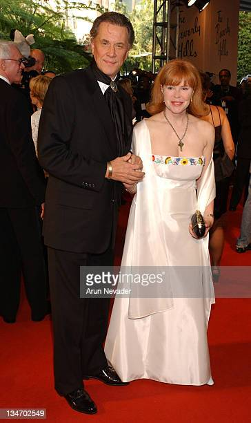 Andrew Prine and wife Heather Lo during The 12th Annual Night of 100 Stars Gala at Beverly Hills Hotel in Beverly Hills California United States