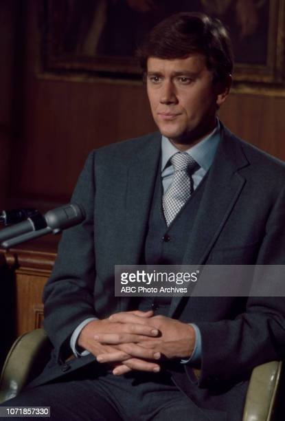 Andrew Prine appearing in the Walt Disney Television via Getty Images tv movie 'Along Came a Spider' February 2 1970