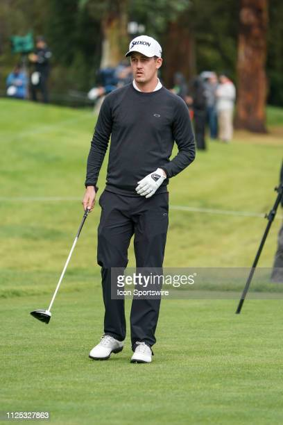 Andrew Putnam during the First Round of the Genesis Open on February 14 at Riviera Country Club in Pacific Palisades CA