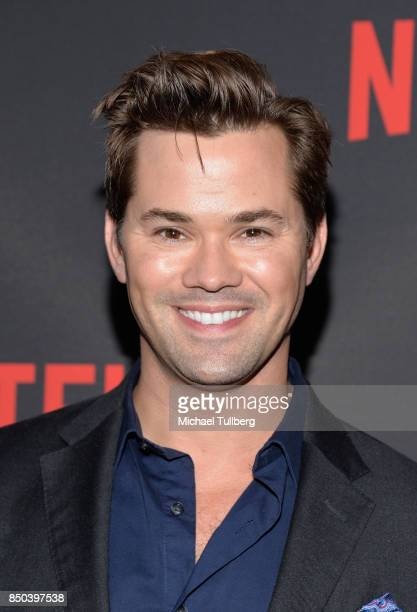 Andrew Rannells arrives at the premiere of Netflix's 'Big Mouth' at Break Room 86 on September 20 2017 in Los Angeles California
