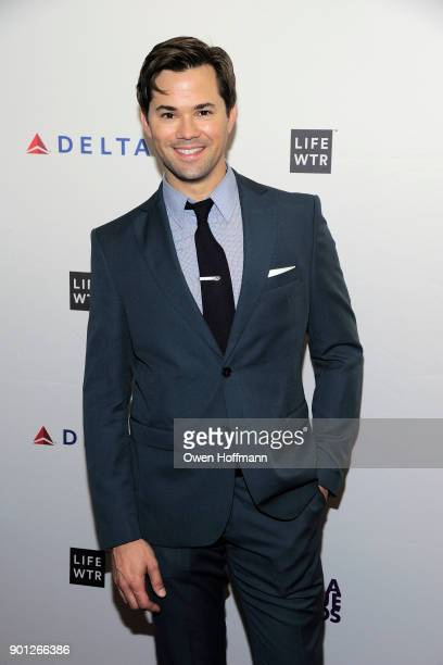 Andrew Rannells attends 83rd Annual Drama League Awards at Marriott Marquis on May 19 2017 in New York City