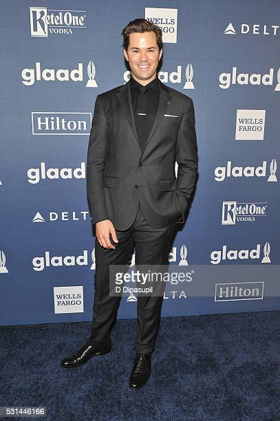 Andrew Rannells attends at The 27th Annual GLAAD Media Awards with Hilton at Waldorf Astoria Hotel on May 14 2016 in New York City