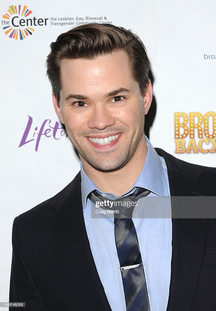 Andrew Rannells attends Broadway Backwards 7 at the Al Hirschfeld Theatre on March 5, 2012 in New York City.