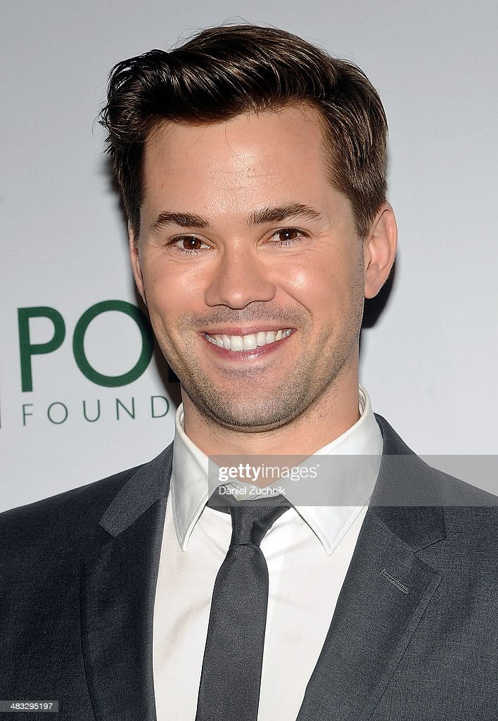 Andrew Rannells attends the 2014 Point Honors New York gala at New York Public Library on April 7, 2014 in New York City.