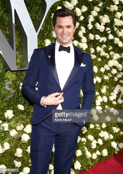Andrew Rannells attends the 2017 Tony Awards at Radio City Music Hall on June 11 2017 in New York City