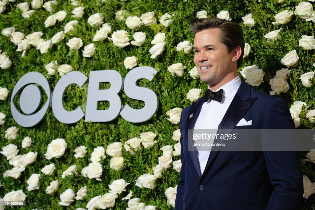 Andrew Rannells attends the 2017 Tony Awards at Radio City Music Hall on June 11, 2017 in New York City.