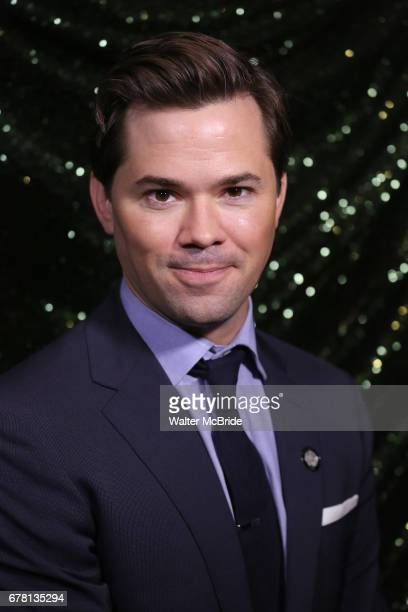 Andrew Rannells attends the 2017 Tony Awards Meet The Nominees Press Junket at the Sofitel Hotel on May 3 2017 in New York City