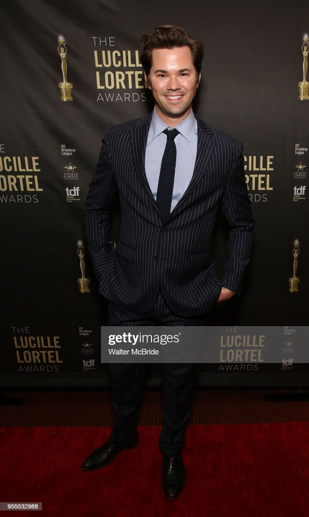 Andrew Rannells attends the 33rd Annual Lucille Lortel Awards on May 6, 2018 in New York City.