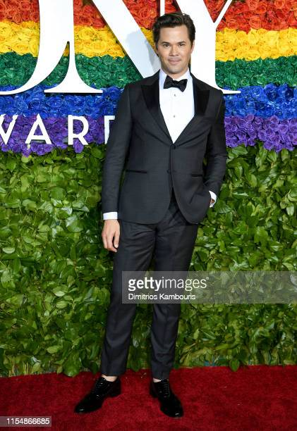 Andrew Rannells attends the 73rd Annual Tony Awards at Radio City Music Hall on June 09 2019 in New York City