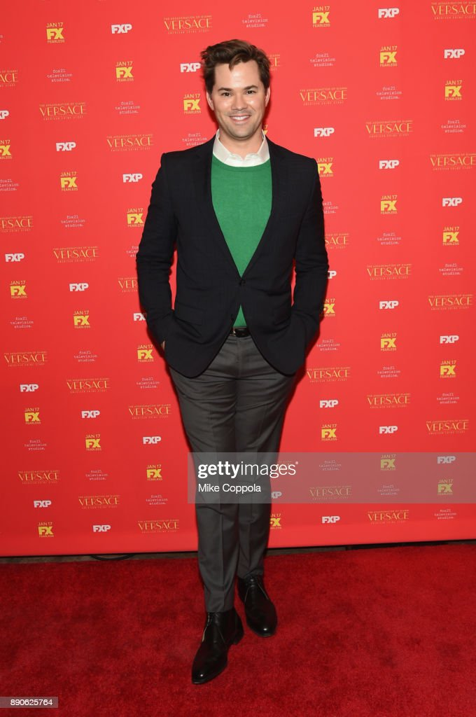 Andrew Rannells attends 'The Assassination Of Gianni Versace: American Crime Story' New York Screening at Metrograph on December 11, 2017 in New York City.
