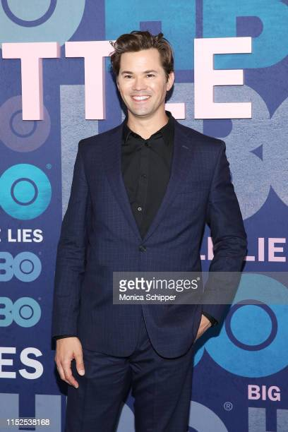 Andrew Rannells attends the Big Little Lies Season 2 Premiere at Jazz at Lincoln Center on May 29 2019 in New York City
